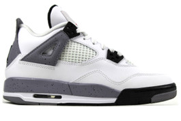 AIR JORDAN 4 RETRO (GS) WHITE CEMENT 2012 (7Y)