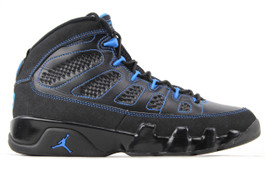 AIR JORDAN 9 RETRO PHOTO BLUE BLACK BOTTOM (SIZE 8)