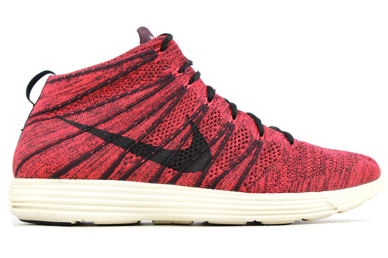 huge selection of a4c83 01f1a NIKE LUNAR FLYKNIT CHUKKA BURGUNDY - (SIZE 11) - IndexPDX
