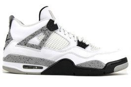 AIR JORDAN 4 RETRO OG WHITE CEMENT 2016 (SIZE  12)