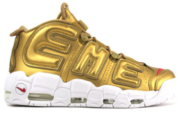 AIR MORE UPTEMPO SUPREME METALLIC GOLD
