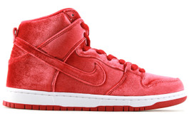NIKE DUNK HIGH PREMIUM SB RED VELVET
