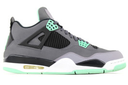 AIR JORDAN 4 RETRO GREEN GLOW 2014 (SIZE 9)