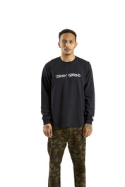 INDEX LONG SLEEVE TEE (BLACK)