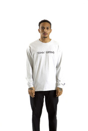 INDEX LONG SLEEVE TEE (ASH GREY)
