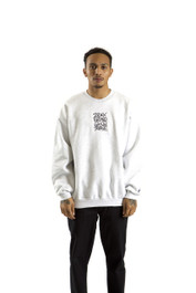 INDEX  CREW SWEATER (ASH GREY)
