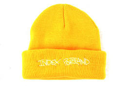 INDEX REVERSIBLE BEANIE YELLOW