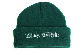 INDEX TINY BEANIE GREEN