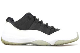AIR JORDAN 11 RETRO LOW TUXEDO (SIZE 8)
