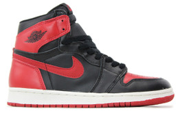 AIR JORDAN 1 BRED 1994 RETRO (SIZE 8)