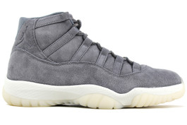 AIR JORDAN 11 RETRO PREMIUM GREY SUEDE 2016