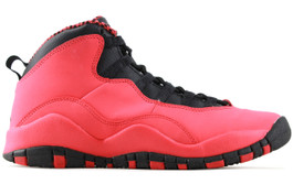 GIRLS AIR JORDAN 10 RETRO FUSION RED (SIZE 4Y)