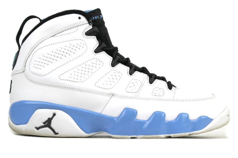 the best attitude 4899e 2efce ...  AIR JORDAN 9 RETRO POWDER BLUE (SIZE 8). Image 1
