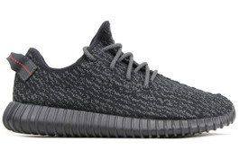 ADIDAS YEEZY BOOST 350 PIRATE BLACK (SIZE 9)