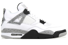 AIR JORDAN 4 RETRO OG WHITE CEMENT 2016  (SIZE 8)
