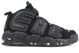 AIR MORE UPTEMPO SUPREME BLACK (SIZE  12)