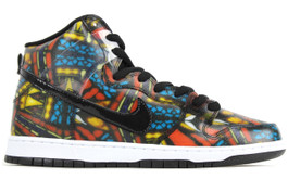 NIKE DUNK HI PRO SB CONCEPTS STAINED GLASS (SIZE 10)