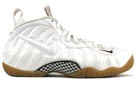 AIR FOAMPOSITE PRO WHITE GUCCI  (SIZE 8.5)