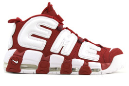 AIR MORE UPTEMPO SUPREME VARSITY RED (Size 10)
