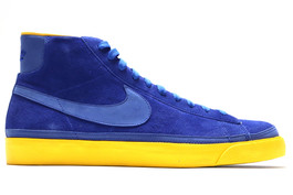 NIKE BLAZER HIGH PREMIUM GOLDEN STATE WARRIORS