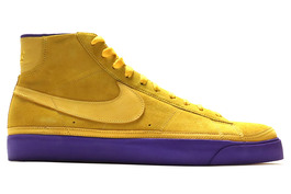 NIKE BLAZER HIGH PREMIUM LOS ANGELES LAKERS
