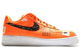 AIR FORCE 1 '07 PRM JDI TOTAL ORANGE (SIZE 11.5)