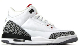 AIR JORDAN 3 RETRO WHITE CEMENT 88' (GS) SAMPLE