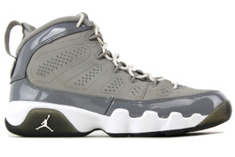 AIR JORDAN 9 RETRO GS COOL GREY (SIZE 5.5Y)