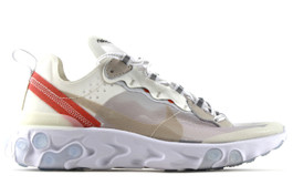 NIKE REACT ELEMENT 87 SAIL (SIZE  9.5)