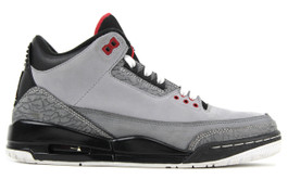 AIR JORDAN 3 RETRO STEALTH (SIZE 7)