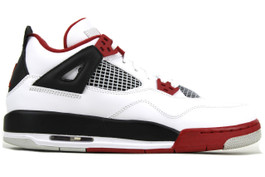 AIR JORDAN 4 RETRO (GS) FIRE RED 2012 (SIZE 7Y)