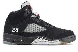 AIR JORDAN 5 RETRO METALLIC 2011 (SIZE 7)