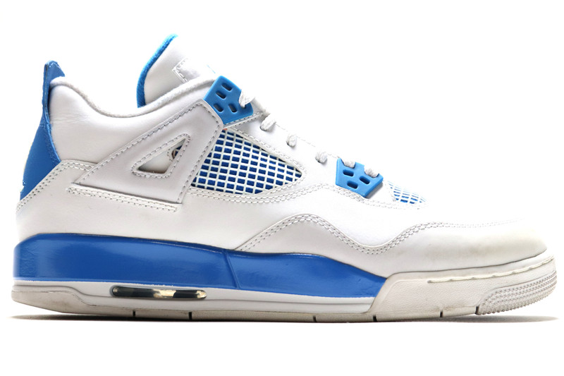 san francisco 88ef0 08e1d AIR JORDAN 4 RETRO (GS) MILITARY BLUE (SIZE 7Y) - IndexPDX