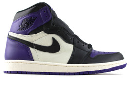 AIR JORDAN 1 HIGH RETRO OG COURT PURPLE (SIZE 5.5)