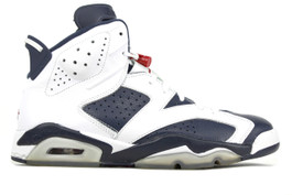 AIR JORDAN 6 RETRO OLYMPIC 2012 (SIZE 10)