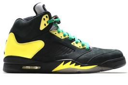 AIR JORDAN 5 RETRO OREGON DUCK BASKETBALL PE