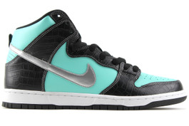NIKE DUNK HIGH PREMIUM SB TIFFANY DIAMOND (SIZE 6.5)