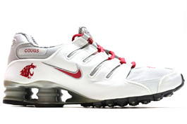 NIKE SHOX NZ ID WSU WASHINGTON STATE