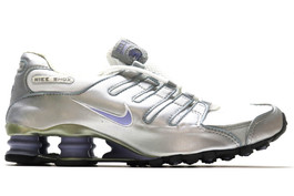 WMNS NIKE SHOX METALLIC SILVER SAMPLE