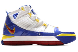 NIKE ZOOM LEBRON III OG 2005 (3) SUPERMAN SAMPLE (RIGHT FOOT ONLY)
