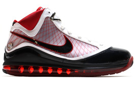 AIR MAX LEBRON VII (7) VARSITY RED (SINGLE RIGHT FOOT)
