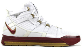 LEBRON III (3) AREA CODE  (RIGHT FOOT ONLY)