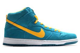 NIKE DUNK HIGH PRO SB TROPICAL TEAL (SIZE 10)