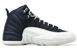 AIR JORDAN 12 RETRO GS OBSIDIAN (SIZE 5.5Y)
