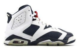 AIR JORDAN 6 RETRO (GS) OLYMPIC 2012 (SIZE 5.5Y)