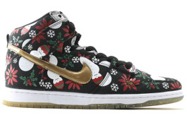 NIKE DUNK HI PRO SB UGLY SWEATER CONCEPTS SPECIAL BOX (SIZE 9)