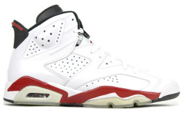 AIR JORDAN 6 RETRO WHITE/VARSITY RED 2010