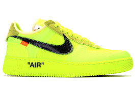 THE 10 : NIKE AIR FORCE 1 VOLT (SIZE 9.5)