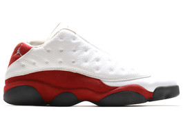 AIR JORDAN 13 RETRO LOW VARSITY RED (SIZE 10.5)