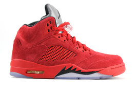 AIR JORDAN 5 RETRO RED SUEDE 2017 (SIZE 10.5)